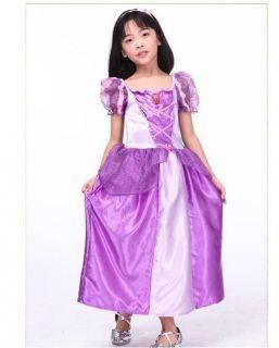New Disney Princess TANGLED RAPUNZEL COSTUME Girls/Kids Party Dress