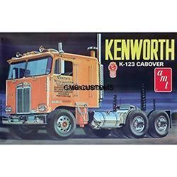 amt687 k 123 kenworth cabover model kit truck fsmib time