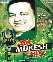 101 Mukesh Hits Bollywood Hindi Video Songs DVD   Indian Music (3 Disc