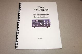 yaesu ft 101zd operating manual comb bound new time left