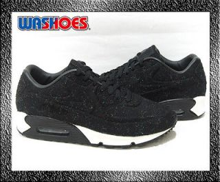 Nike Wmns Air Max 90 VT Black Sail White UK 3.5~6.5 suede 1 95 98 NIB