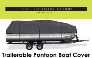trailerable pontoon boat cover 21 24  74