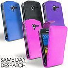 LEATHER FLIP CASE COVER   SCREEN PROTECTOR FOR SAMSUNG GALAXY ACE 2