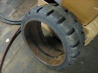 17x7x12 1/8 new press on[ rubber ] tire forklift lift truck