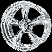 15 inch Torq Thrust II 15x7 Rims Wheels EARLY GM General Motors 5 Lug