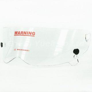 Shield Visor Face Mask Anti fog UV Transparent Lens for Bandit Full