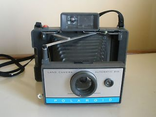 vintage polaroid 210 automatic land camera  14