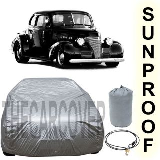 CHEVY COUPE Sunproof Car Cover Silver 1933 1934 1935 1936 1937 1938