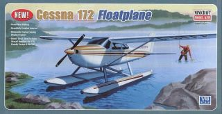 minicraft 1 48 cessna 172 floatplane ne w free shipping