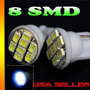 LED License plate lights bulbs white 194 T10 (Fits Honda Civic 2000