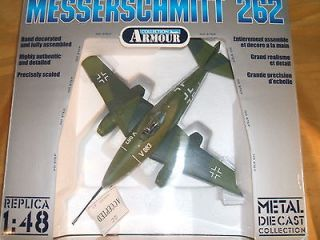 Franklin mint MESSERSCHMITT 262 148 scale Metal Diecast collection