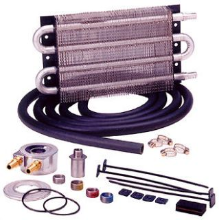 PERMA COOL P/N 10189 UNIVERSAL ENGINE OIL COOLER KIT SANDWICH STYLE