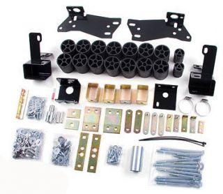 03 05 Silverado, Sierra 1500 2/4WD 3 Zone Offroad Body Lift Kit