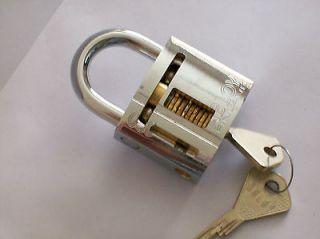 abloy 330 cutaway padlock locksmith practice lock