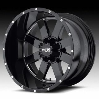 18 MOTO METAL 962 BLACK W/ 35x12.50x18 NITTO TRAIL GRAPPLER TIRES