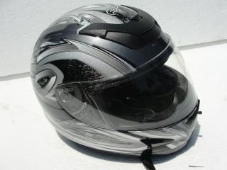 GRAPHITE GRAY FULMER FULL FACE   N3 SPORTBIKE MOTORCYCLE HELMET AF