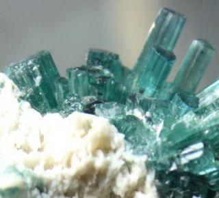 345 carat blue paraiba tourmaline specimen mineral from canada time
