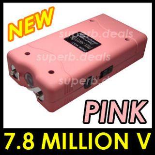 Newly listed VIPERTEK PINK VTS 880 7.8 Self Defense Stun Gun