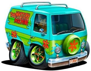 Sooby Doo Mystery Machine Cartoon Art Wall Graphic Vinyl Decal Home