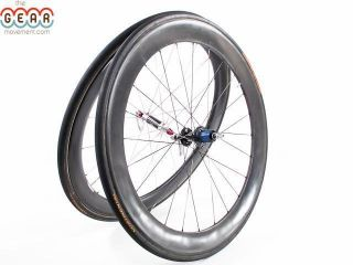 HED Stinger S6 S5 Tubular Carbon Road Bike Wheelset Wheels Triathlon