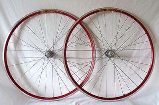 Mavic CXP 33 Bicycle Bike Cycling Shimano Dura Ace 7800 Wheels Set Red