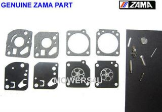 genuine zama carburetor repair kit rb 29 ryobi trimmers time