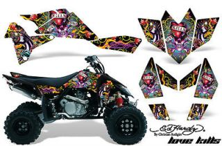 AMR RACING GRAPHIC DECAL STICKER KIT ATV SUZUKI LTR450 LT R450 QUAD ED