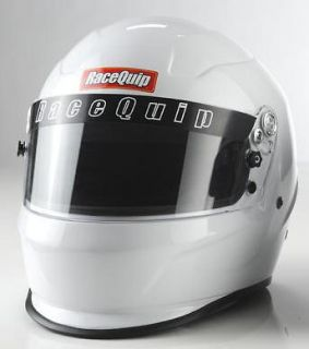Racequip Helmet Full Face White SA2010 2X Large   RCI Geforce simpson