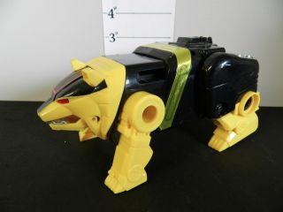 474] Bandai 95 Mighty Morphin Power Rangers Yellow Ninja Megazord
