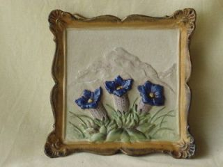 antique ceramic wall decoration schau bach kunst from bulgaria time