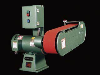 Burr King 960 400 BELT GRINDER, 3 HP, 3 Phase, 6300 or 3150 FPM