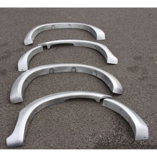 Toyota Hilux Hil ux 2005 Onwards Silver Wheel Arch Extension Fender