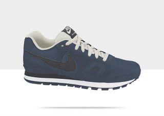 Chaussure Nike Air Waffle Trainer en cuir pour Homme 454395_421_A