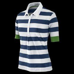Nike Dri FIT Bold Stripe Womens Golf Polo