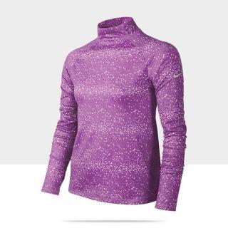 Nike Pro Graphic Hyperwarm Girls Shirt 519008_507_A