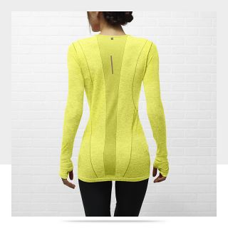 Nike Dri FIT Knit Long Sleeve Womens Running Shirt 520294_734_B