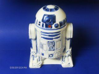 VINTAGE 1977 20TH CENTURY FOX STAR WARS R2 D2 COOKIE JAR RARE FLAWLESS