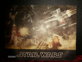 Star Wars 1977 20th Century Fox Movie Book