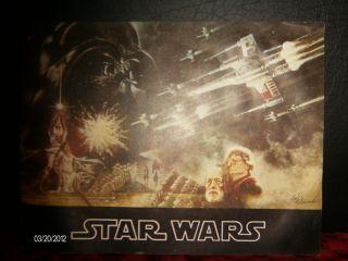 Star Wars 1977 20th Century Fox Movie Book