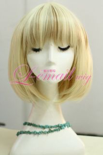30cm Short 613 27 Straight Bob Fashion Hair Wig CB43