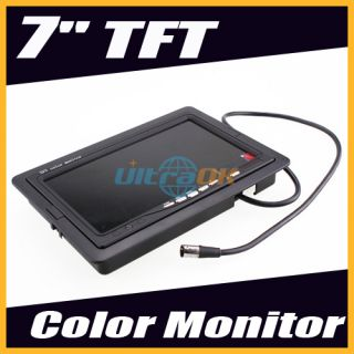 channel Car Rearview Back Backup TFT LCD Color Camera VCR DVD GPS