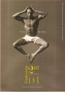 2xist Mens Underwear Ad Sexy Male Model Gay Int