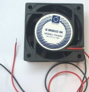 60mm 12V DC Brushless Fan Cooling Motor Case Assembly