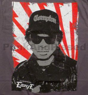 Eazy E   N.W.A.   Retro Eazy charcoal grey t shirt   Official   FAST