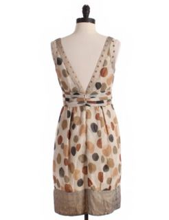 by anna sui size 2 tan a line price $ 51 00 originally priced at $ 189