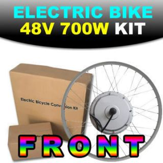 Front 36V 700W 26 Electric Bicycle Engine Kit Conversion Scooter Motor