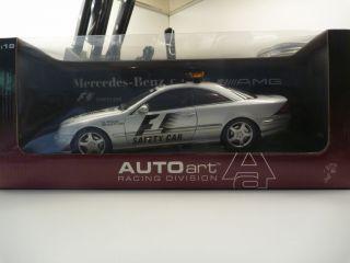 18 Autoart Mercedes Benz 215 CL55 AMG F1 Safety Car