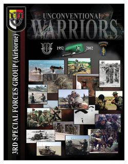 3rd Special Forces Green Berets 50th Anniversary Poster