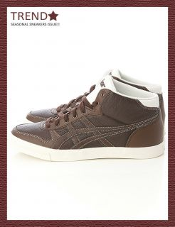 BN Asics Aaron MT Le DX Brown Brown Shoes 24