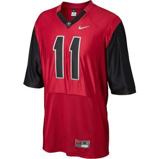 Aaron Murray 11 Nike Rivalry Pro Combat Football Jersey Size L